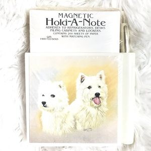 ⬇️$22 Magnetic Hold A Note Paper w/ Matching Pen